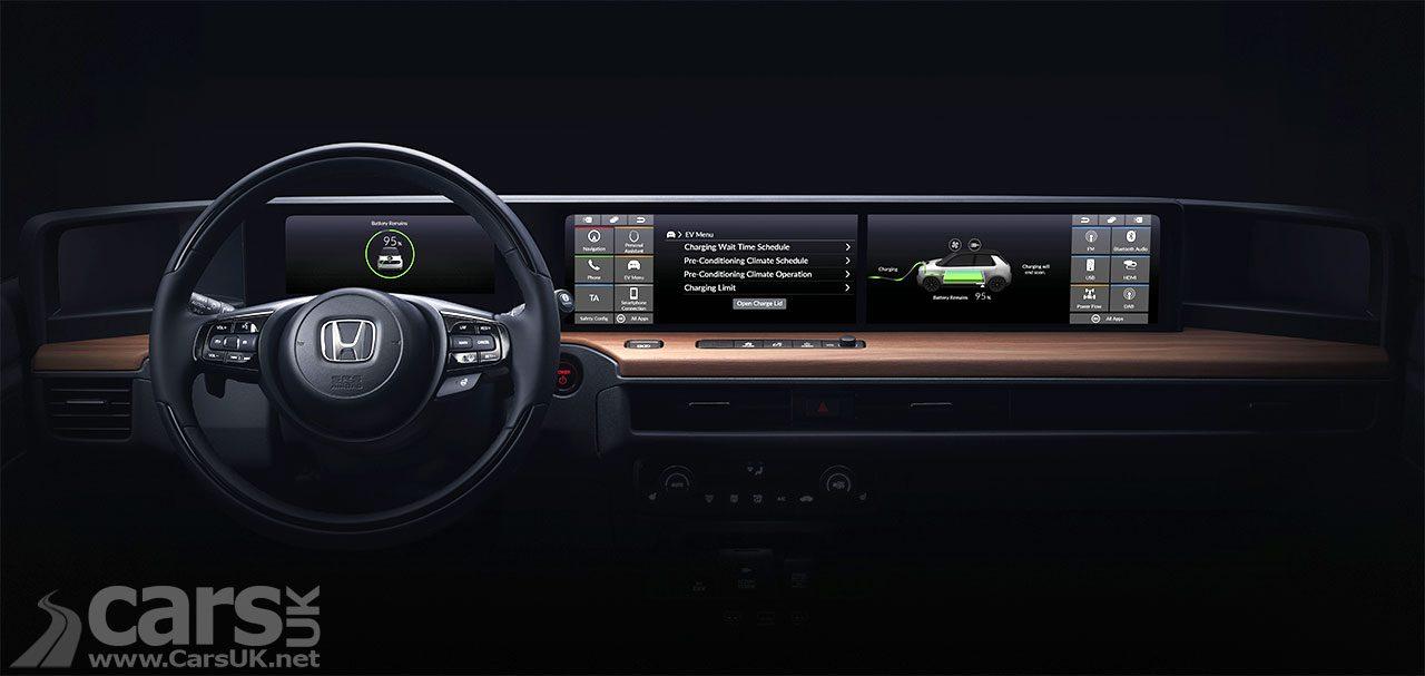 Interior of the Honda Urban EV