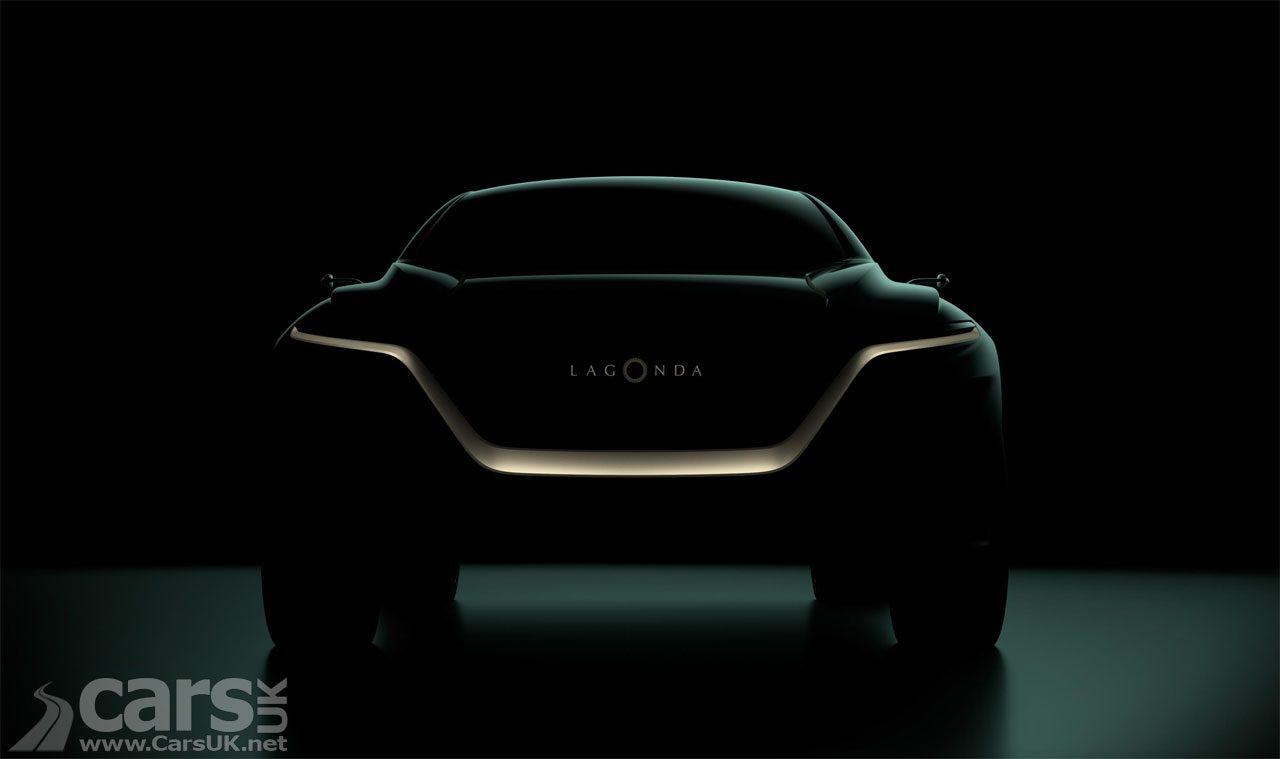 Lagonda All-Terrain Concept Teased
