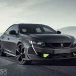 Peugeot 508 Sport Engineered Concept is a 400bhp Plug-in HYBRID 508