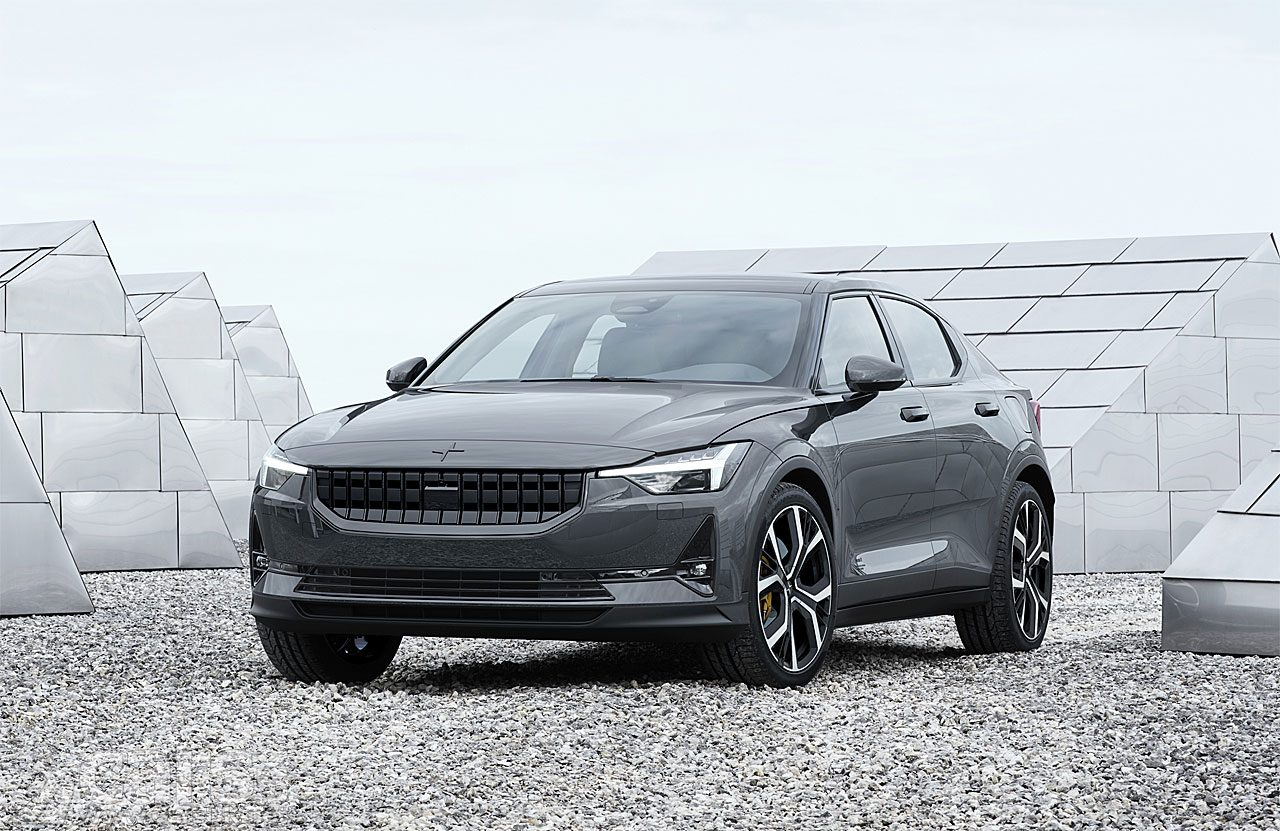 Polestar 2 Electric Saloon revealed