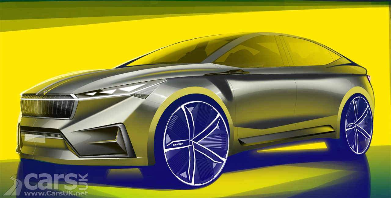 The Skoda Vision iV Concept - an electric SUV