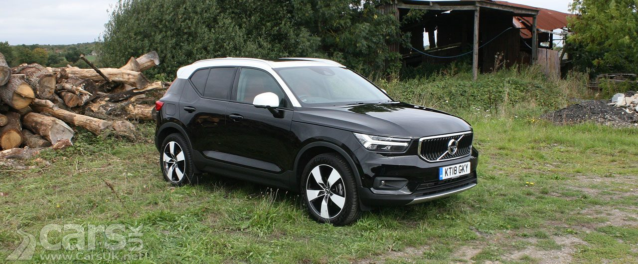 Volvo sales UP 11.3% - driven by the XC40 and XC60