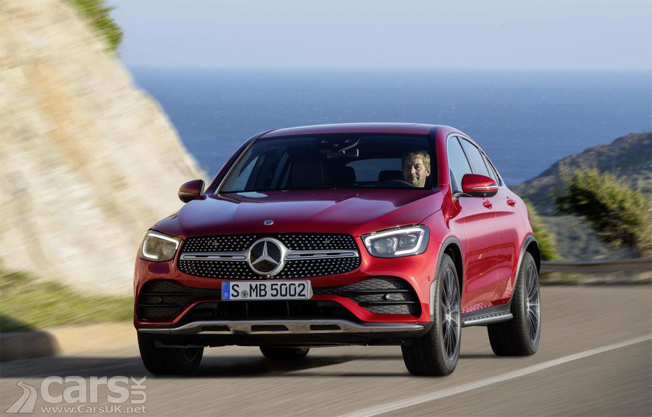 2019 Mercedes GLC Coupe Facelift