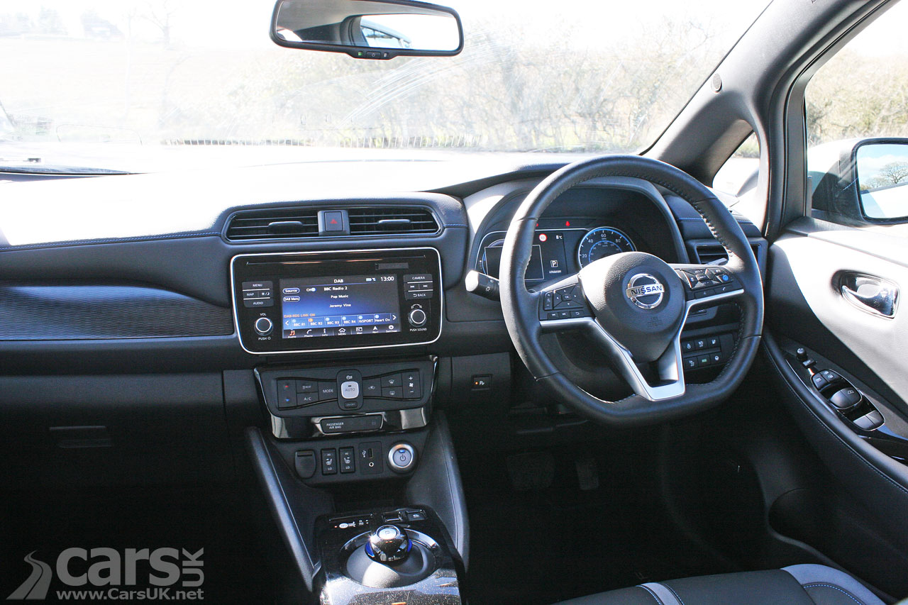 Nissan Leaf long-term Review Interior