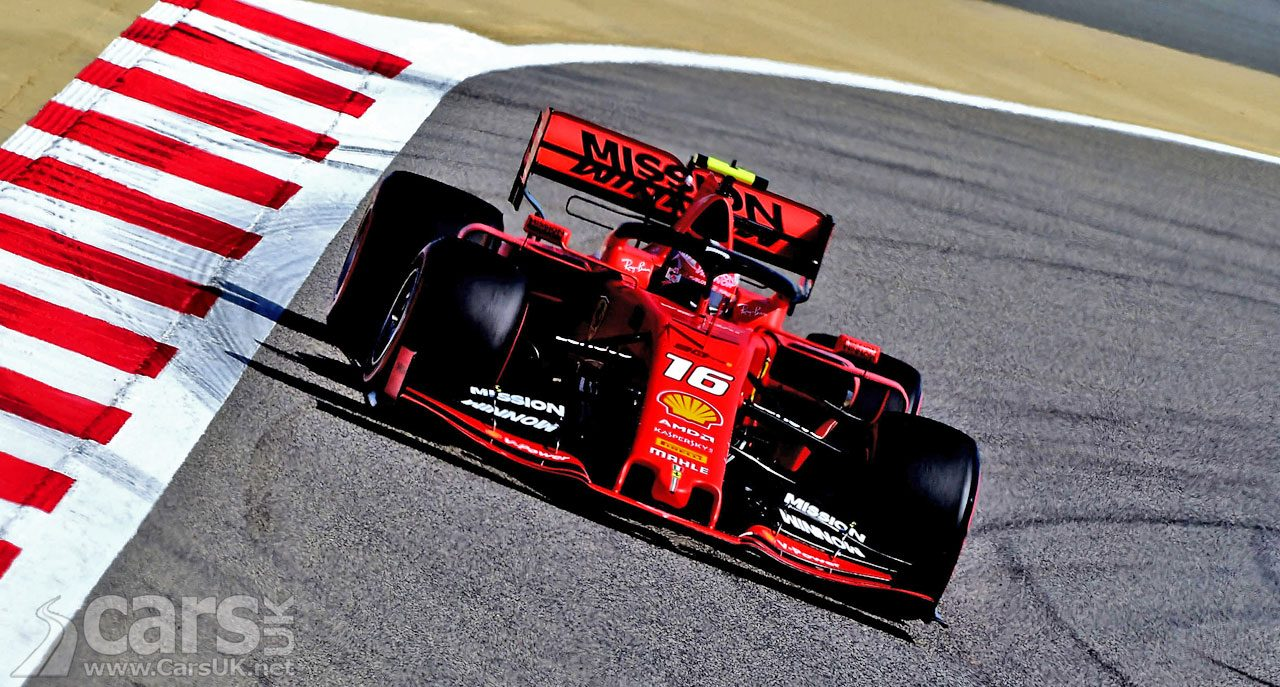 Leclerc beats Vettel for POLE and Ferrari front row in Bahrain Grand Prix