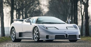 The last Bugatti EB110 SS up for sale in London