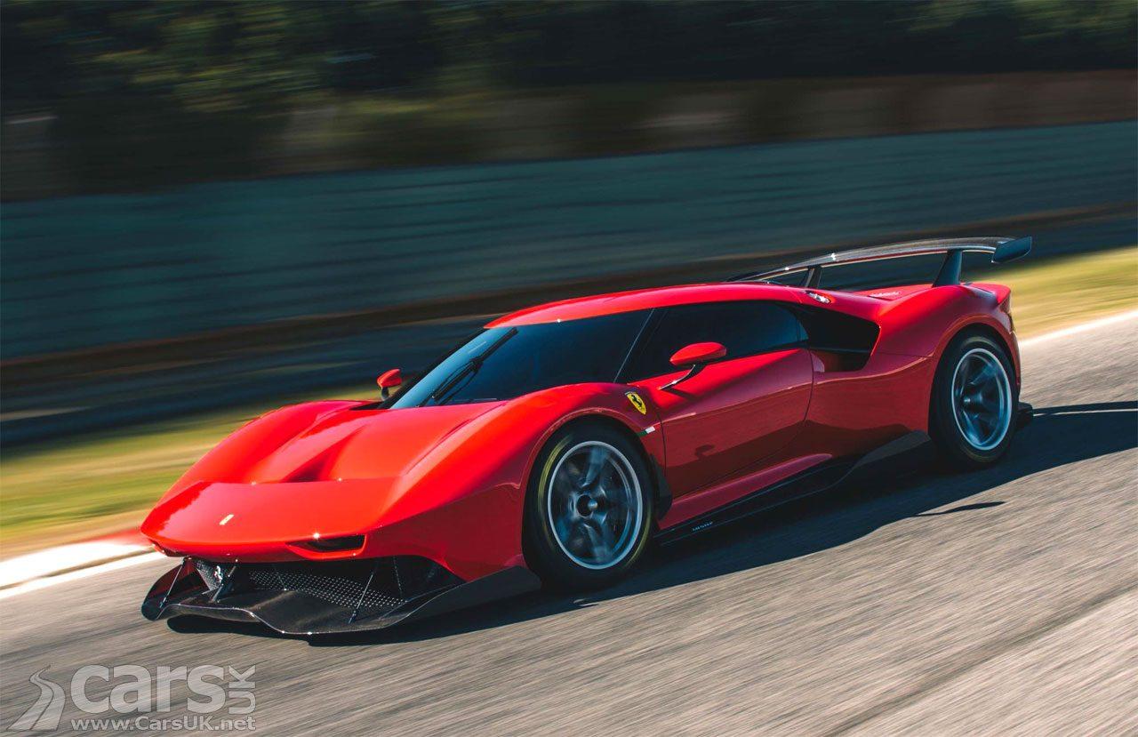 Ferrari P80/C: A one-off, track-only Ferrari Special