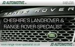 JD Automotive Land Rover Specialists