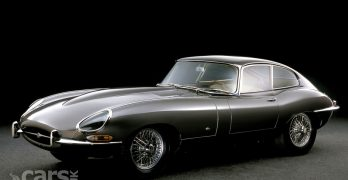 The FIRST Jaguar E-Type ever seen in public