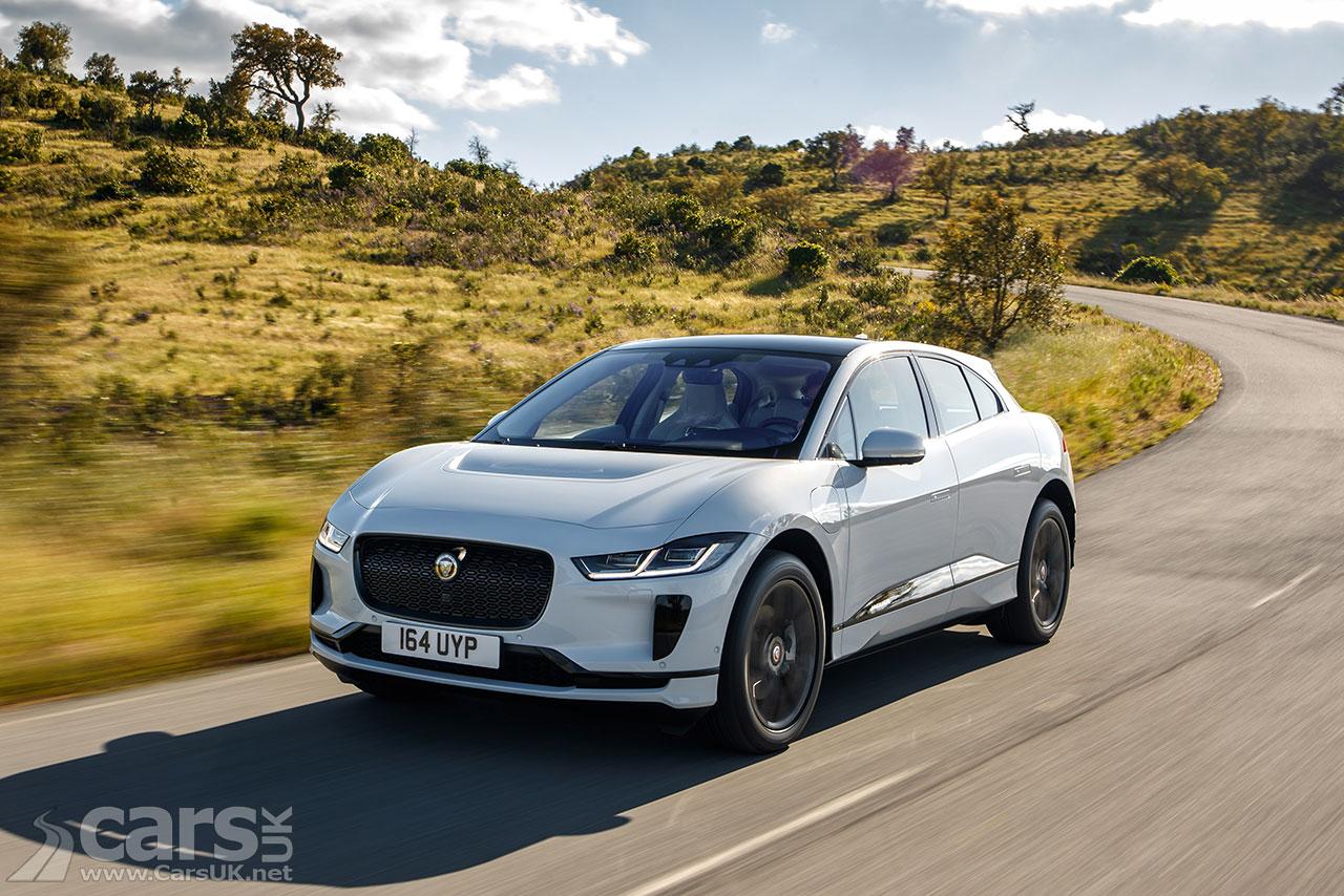Jaguar I-Pace outsells the Jaguar XF