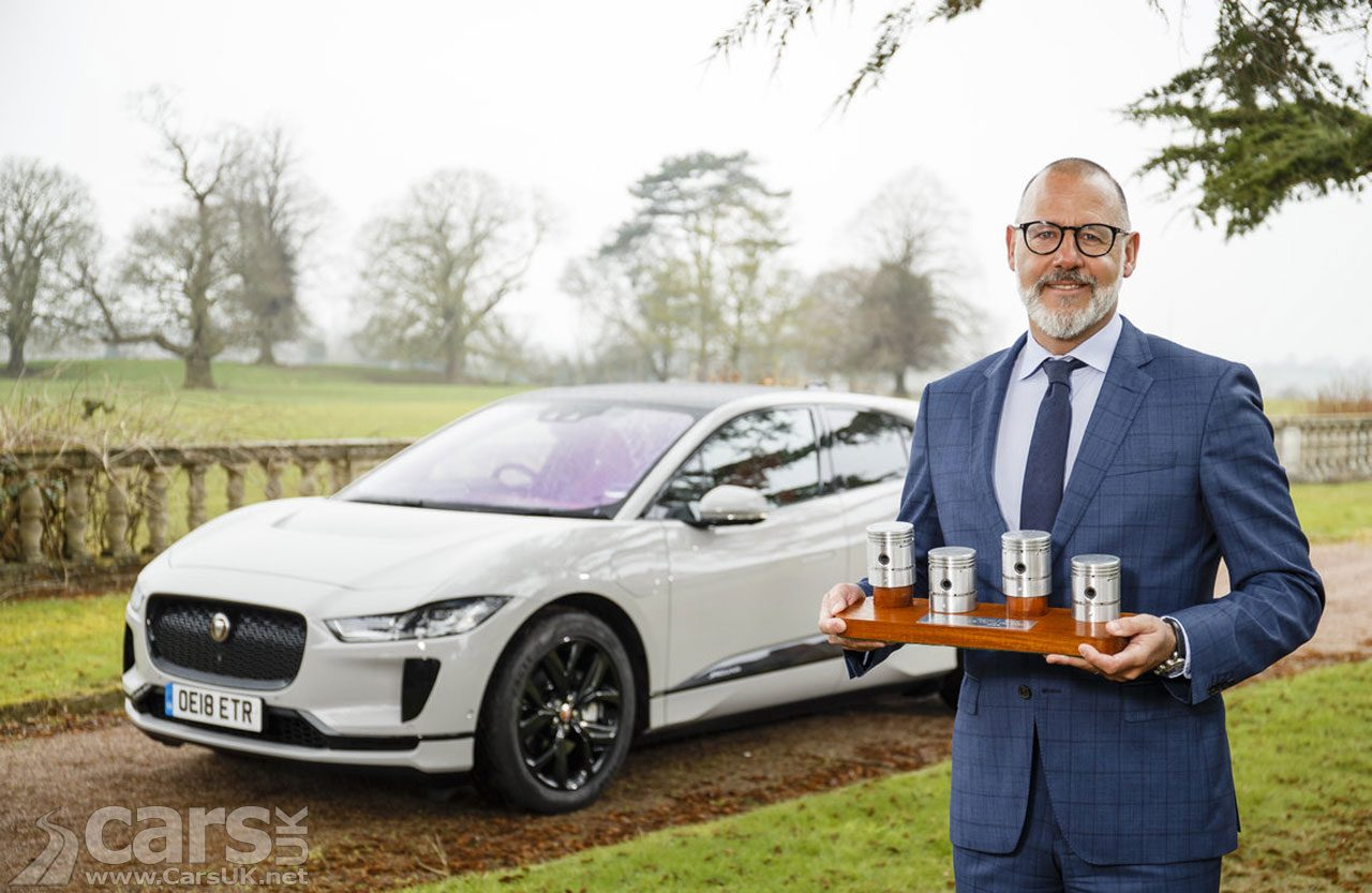 Jaguar I-PACE EV is the UK Car of the Year 2019