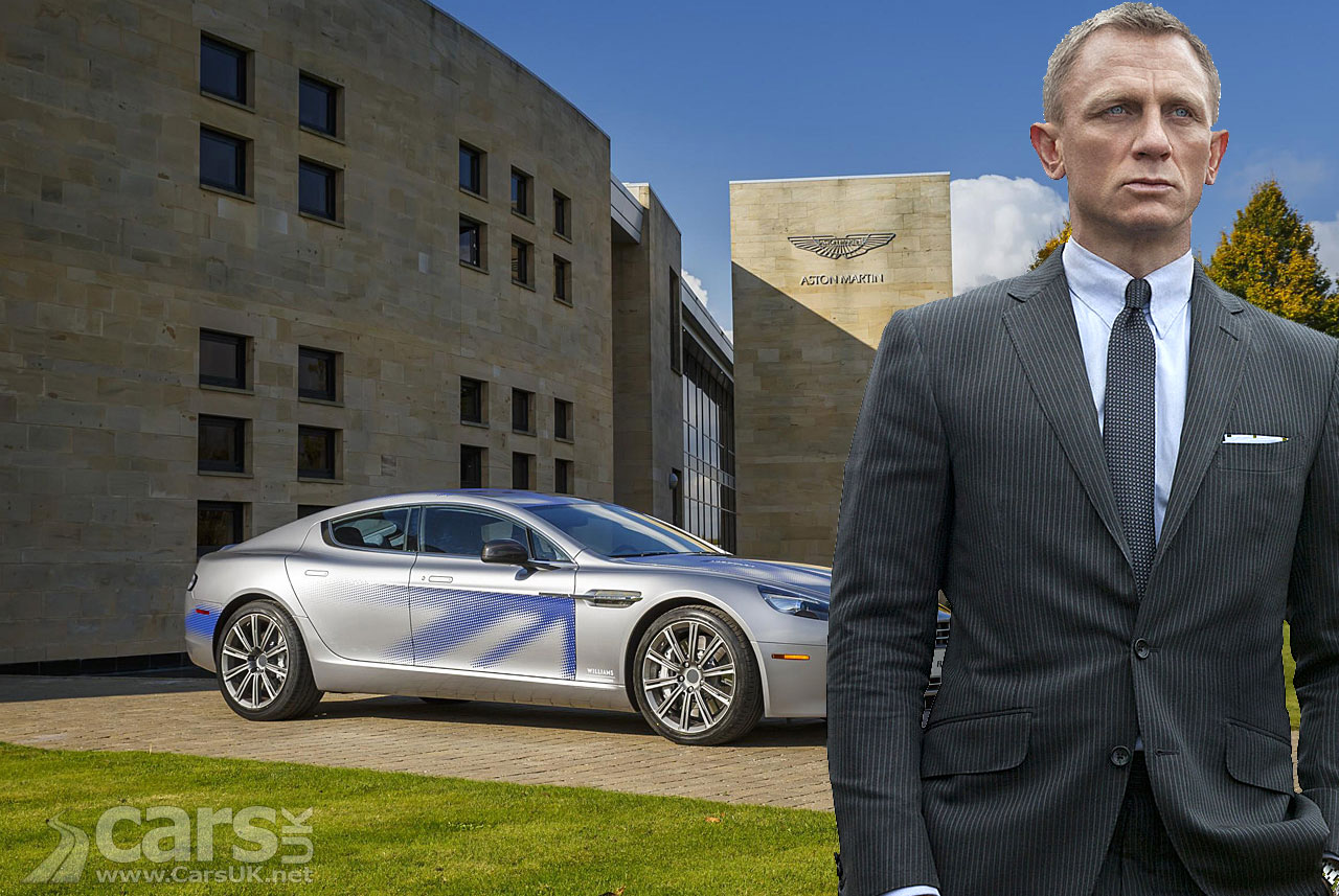 Is James Bond going 'green' with an electric Aston Martin Rapide E