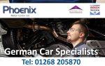 Phoenix Motor Centre | BMW Mercedes Audi VW Specialist Essex