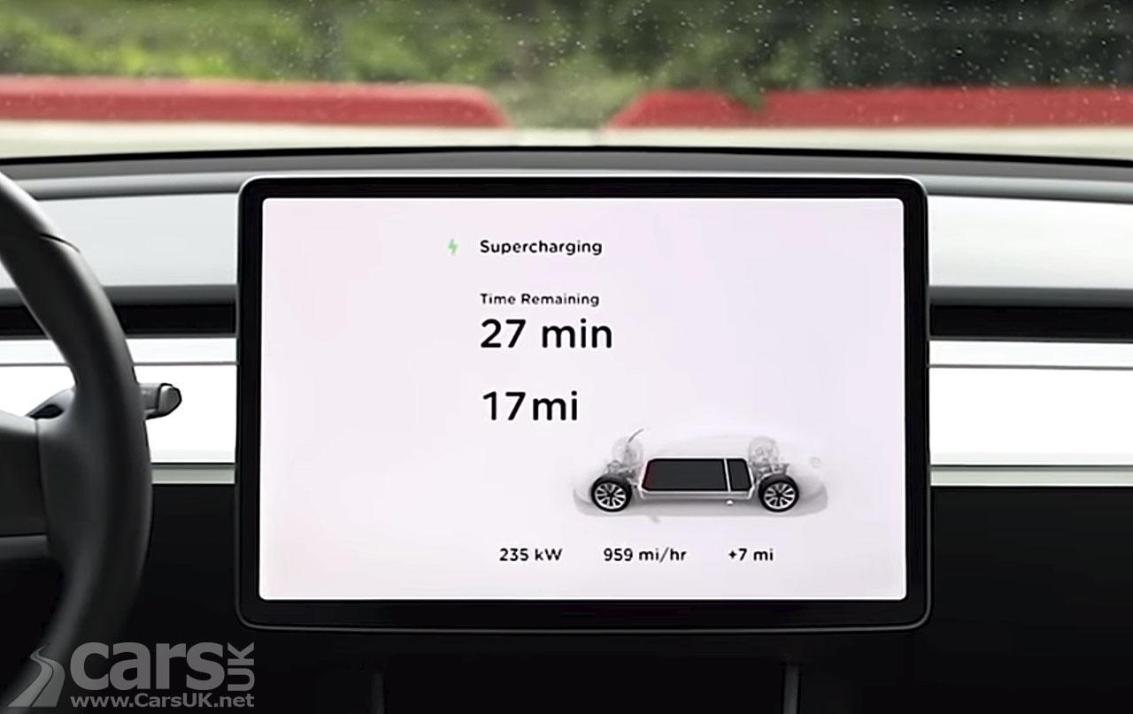 Tesla V3 Superchargers revealed