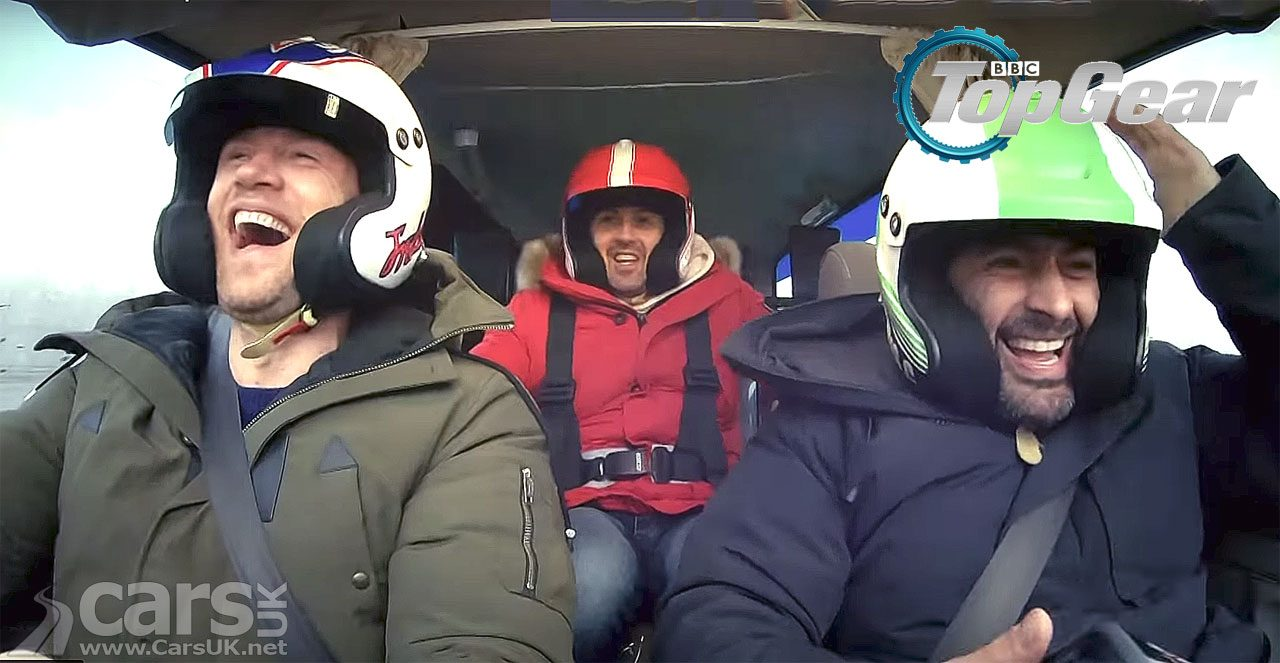 Top Gear Series 27 - with Flintoff and McGuinness - first video trailer