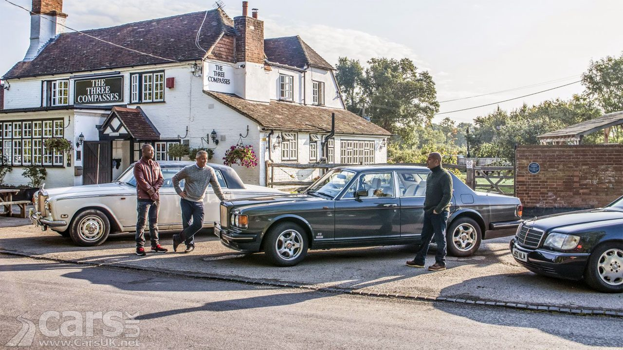 Top Gear Tonight - Bentley, Mercedes and Rolls-Royce