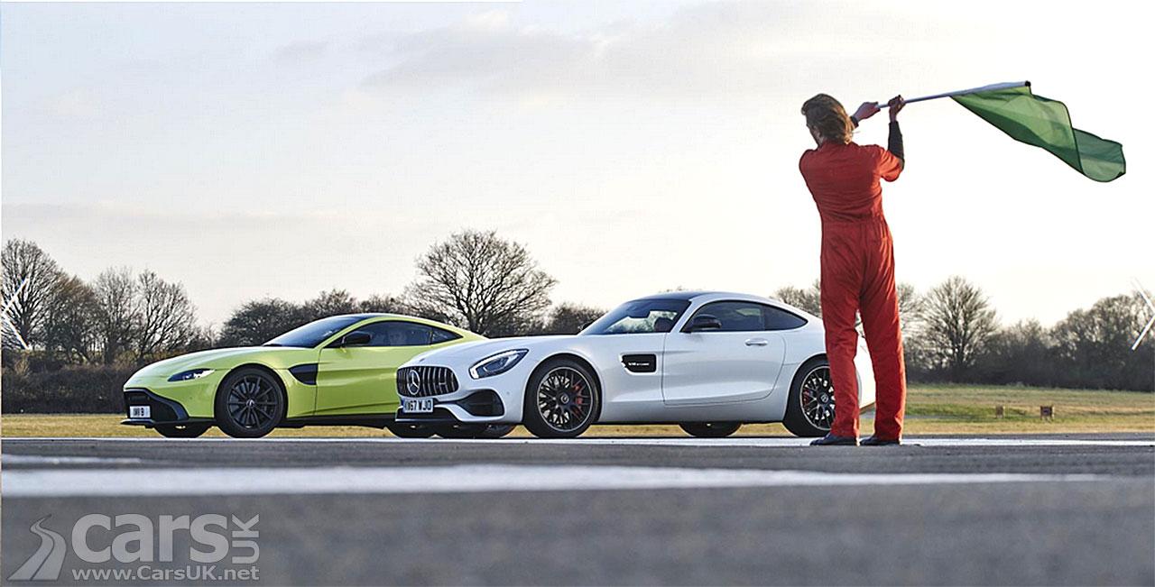 Top Gear Tonight: Aston Martin vs Mercedes AMG
