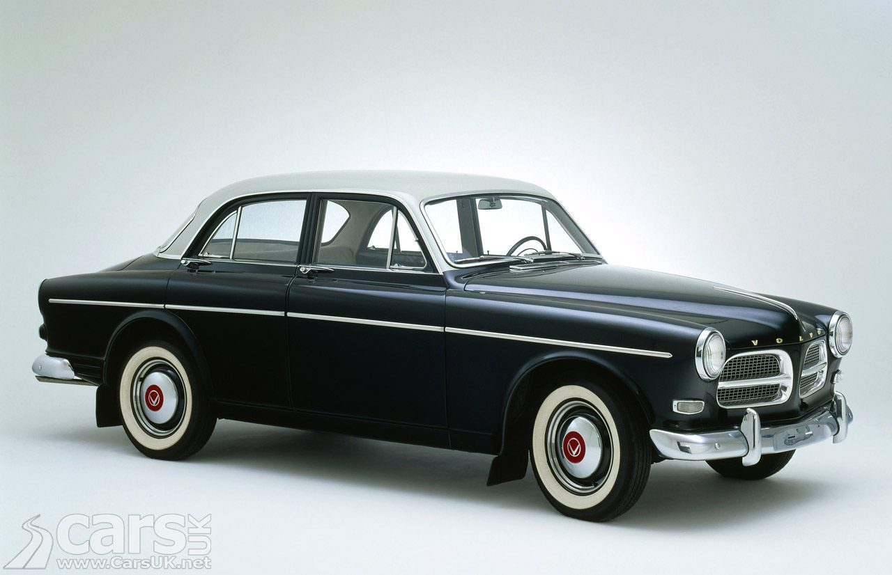 Cars like the Volvo Amazon (pictured) set to join record-breaking parade of Volvos in the UK