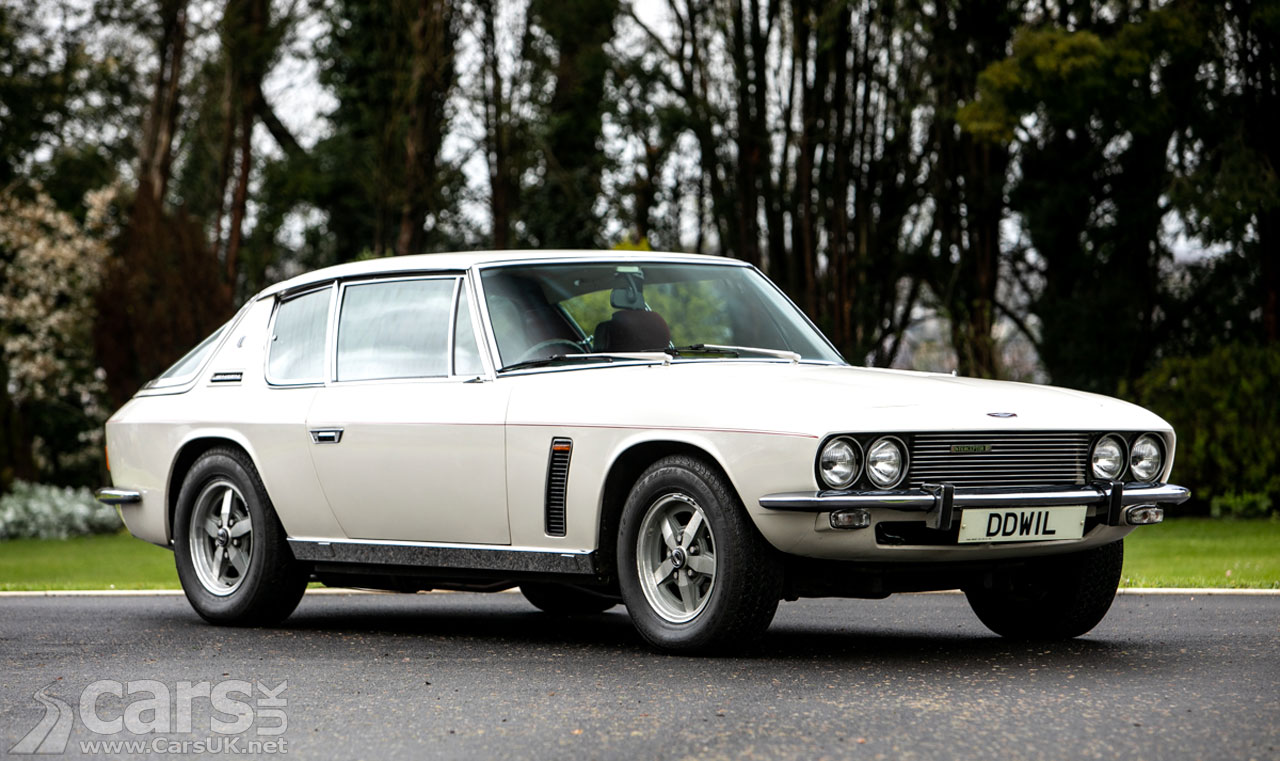 1975 Jensen Interceptor III with just 9,000 miles up for auction