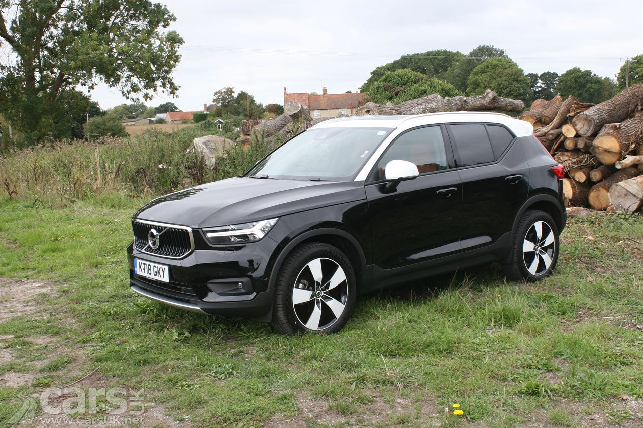 Volvo XC40 is the best-selling Volvo in the UK in 2019