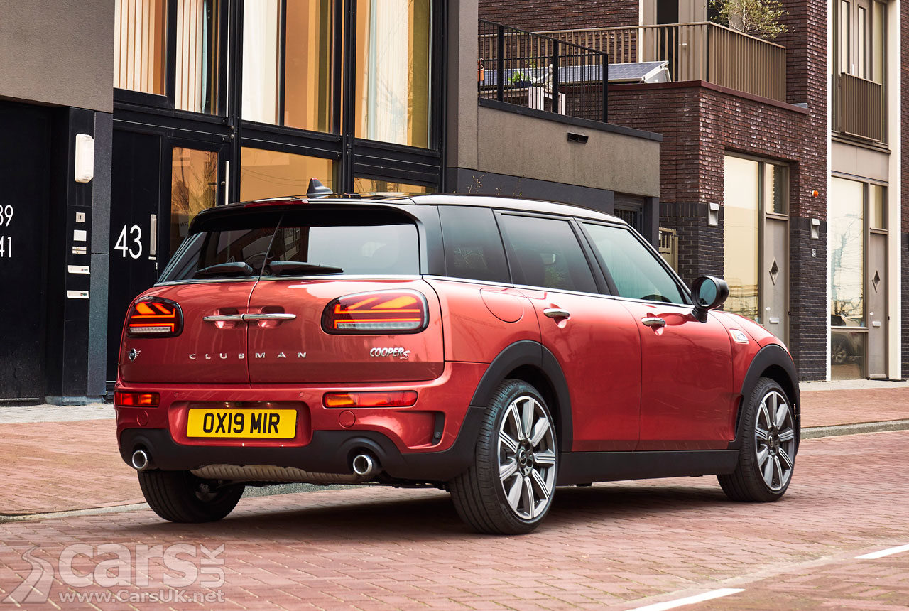 2019 MINI Clubman complete with Union Jack tail lights