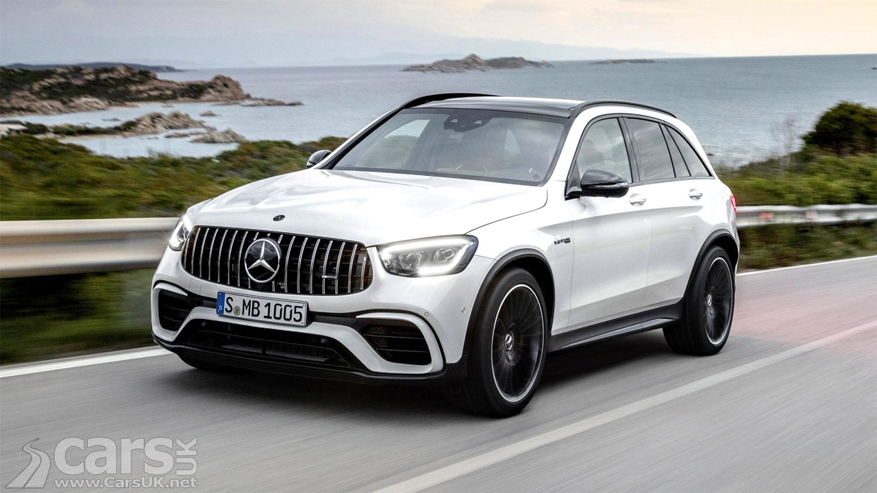 New Mercedes-AMG GLC 63 and GLC 63 Coupe revealed