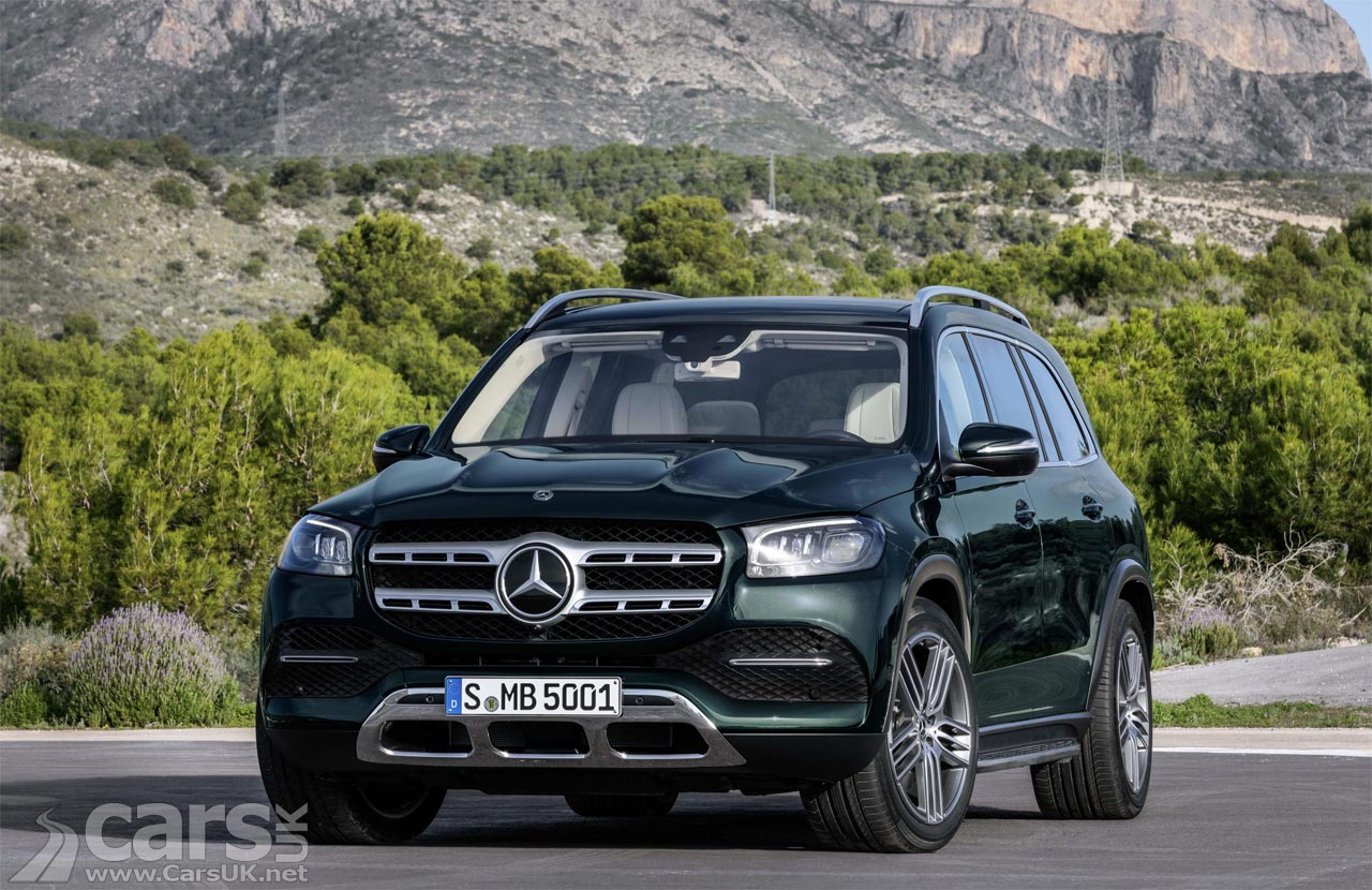 New Mercedes-Benz GLS UK Prices and Specs Announced