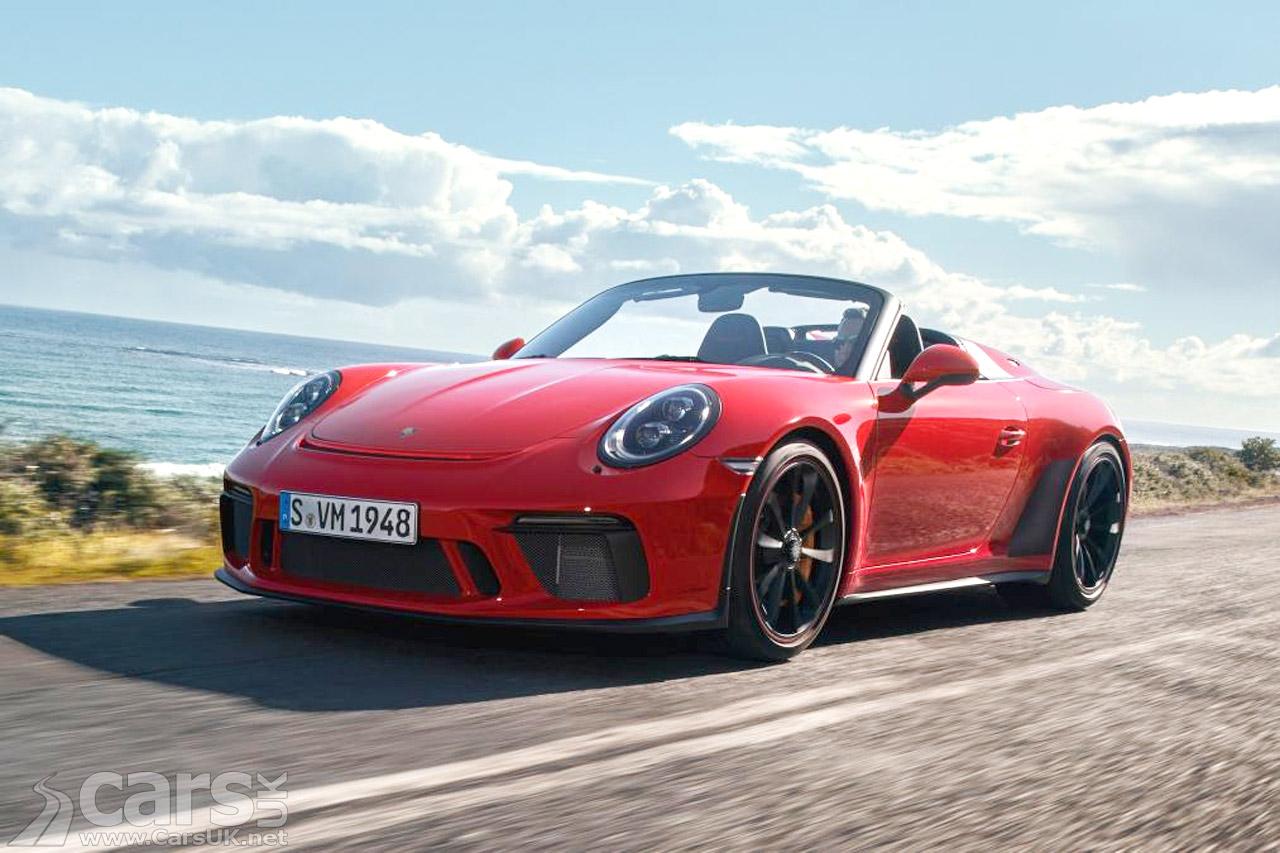 New Porsche 911 Speedster arrives