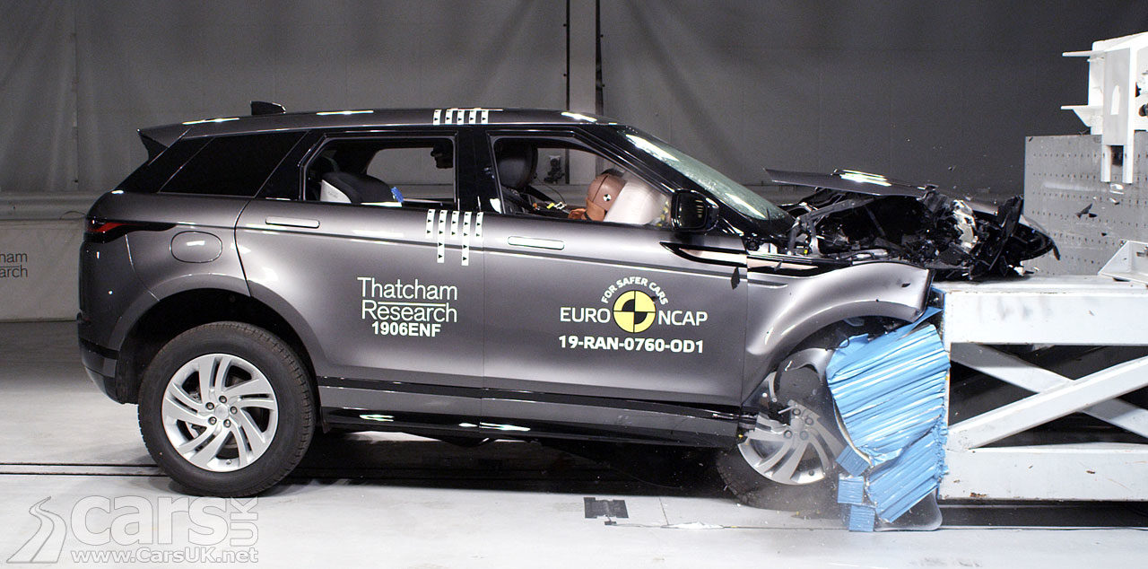 New Range Rover Evoque is the SAFEST Land Rover so far