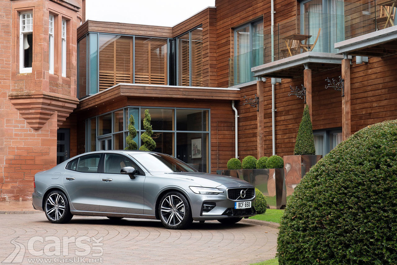 New Volvo S60 gets best in class RESIDUAL values