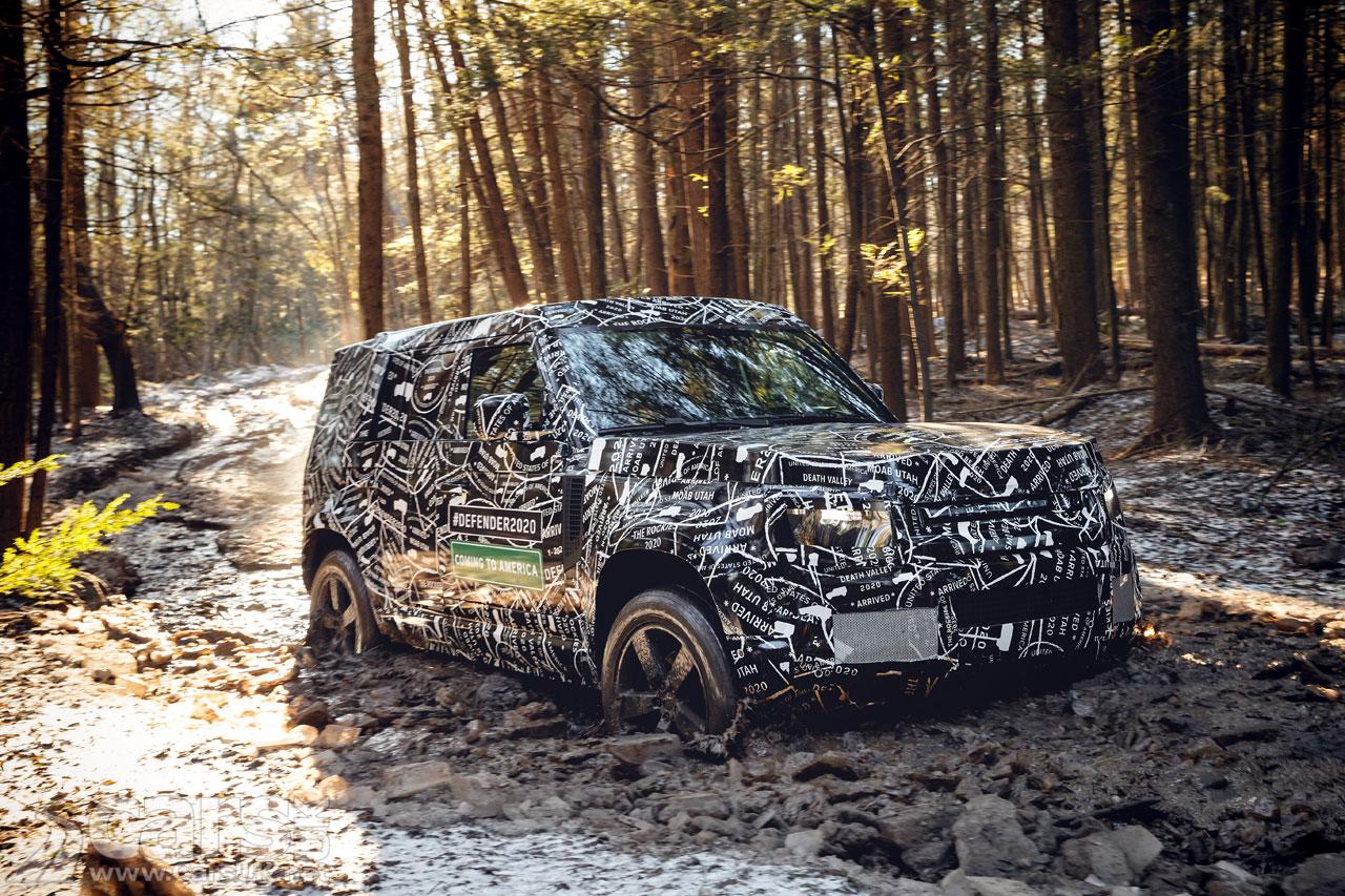 New Land Rover Defender will debut in September 2019
