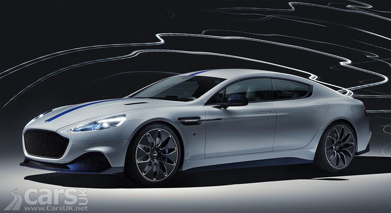 Aston Martin Rapide E - Aston's first production electric car