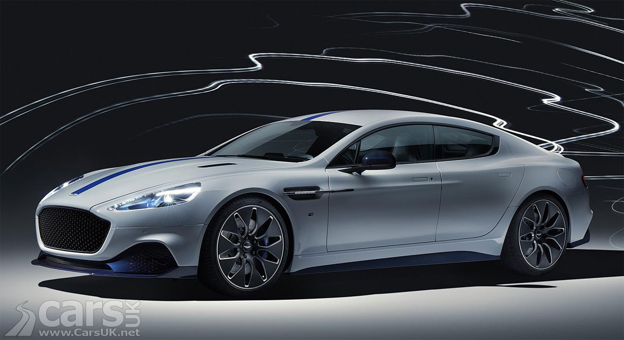 Aston Martin Rapide E - Aston's first production electric car