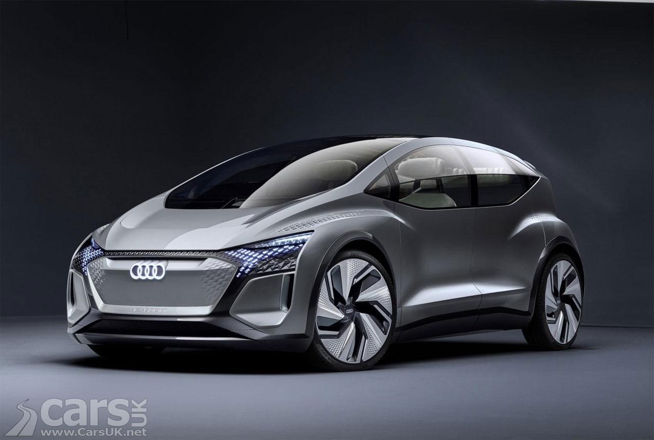 Audi AI:ME is an electric autonomous Audi for the future City
