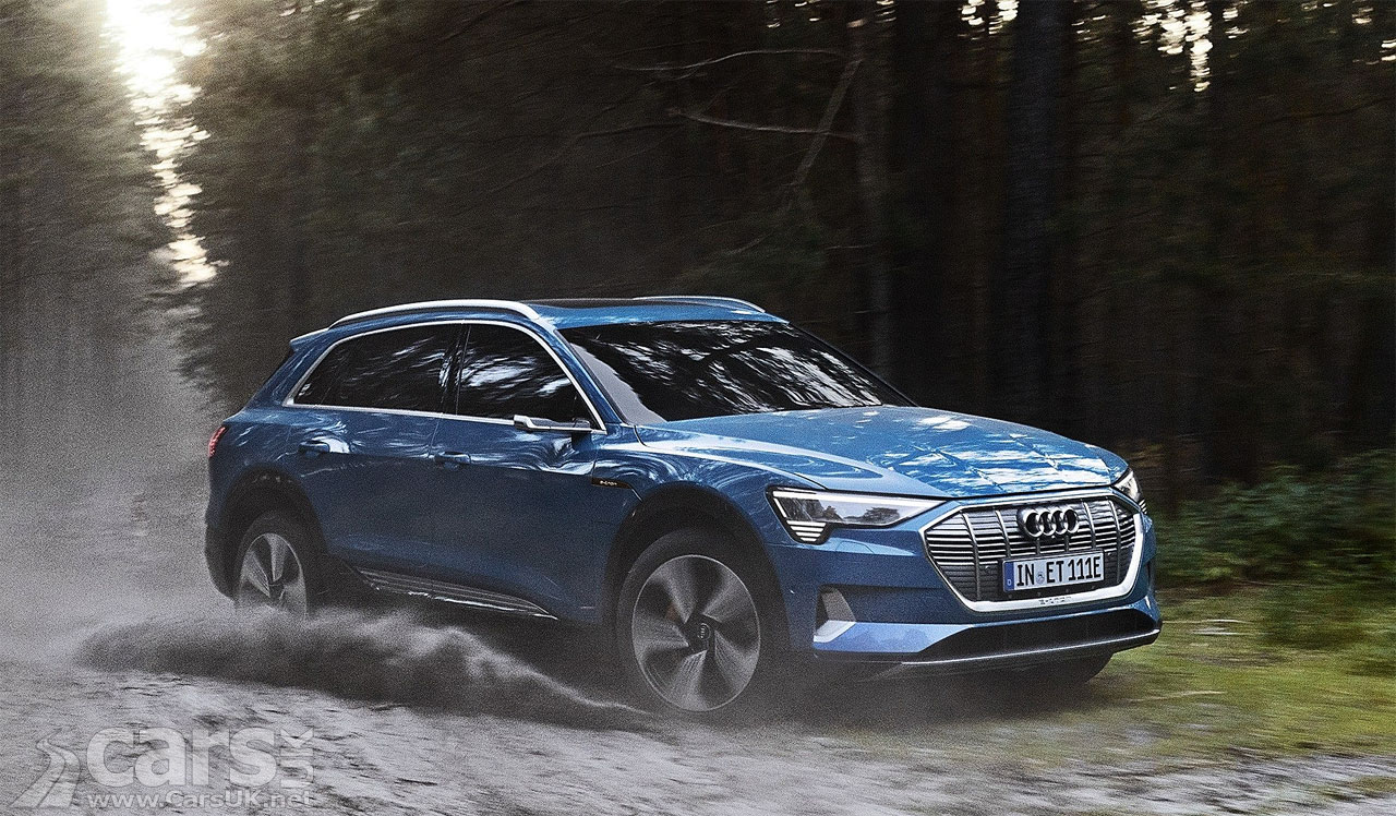 Audi e-tron EV production CUT