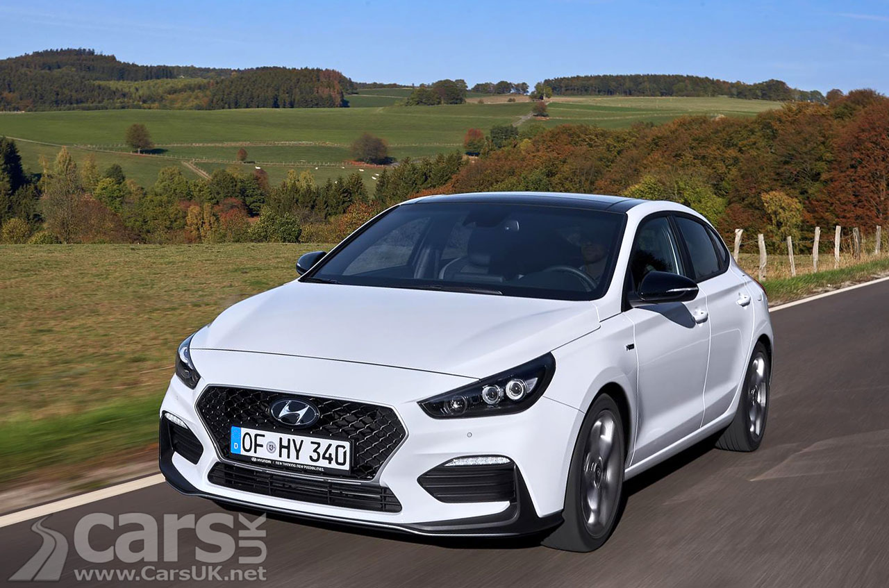 Hyundai i30 Fastback N Line UK prices and specs