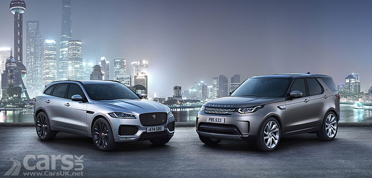 It's Jaguar Land Rover GOOD news time