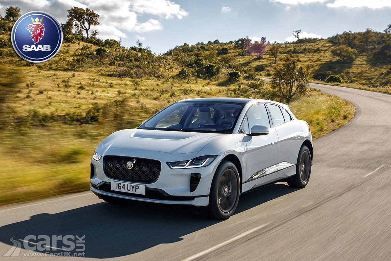 Jaguar I-Pace EV owes a big debt to SAAB electric innovation