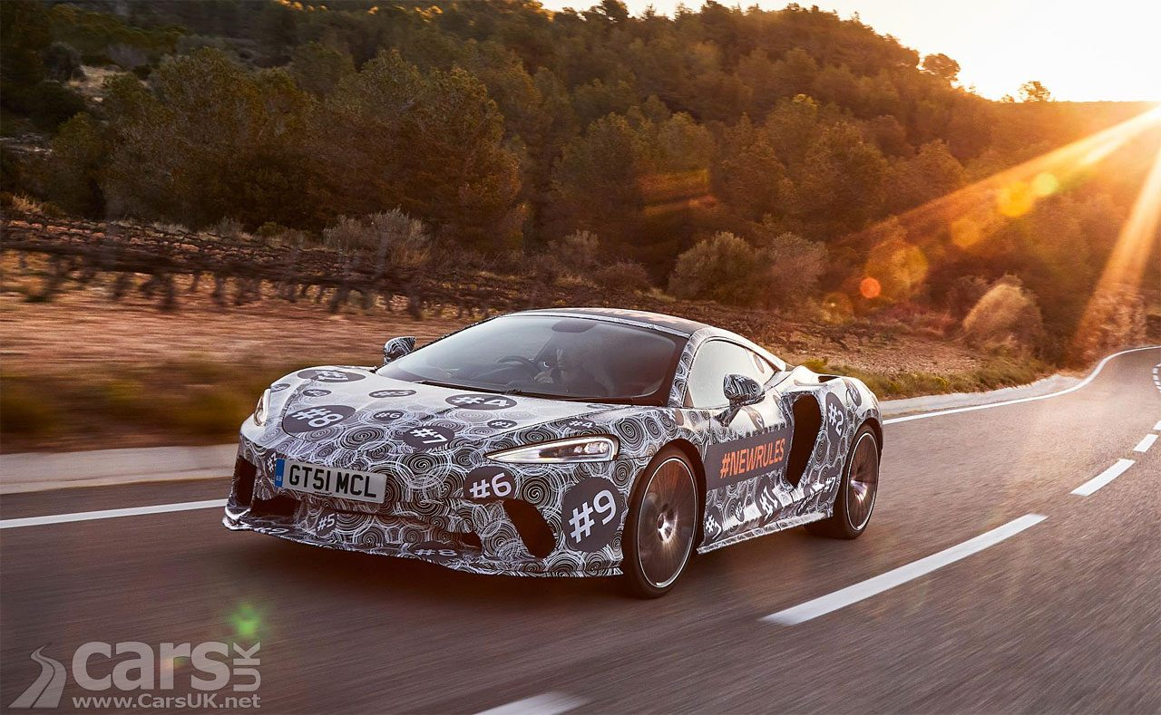 McLaren GT returns to TEASE