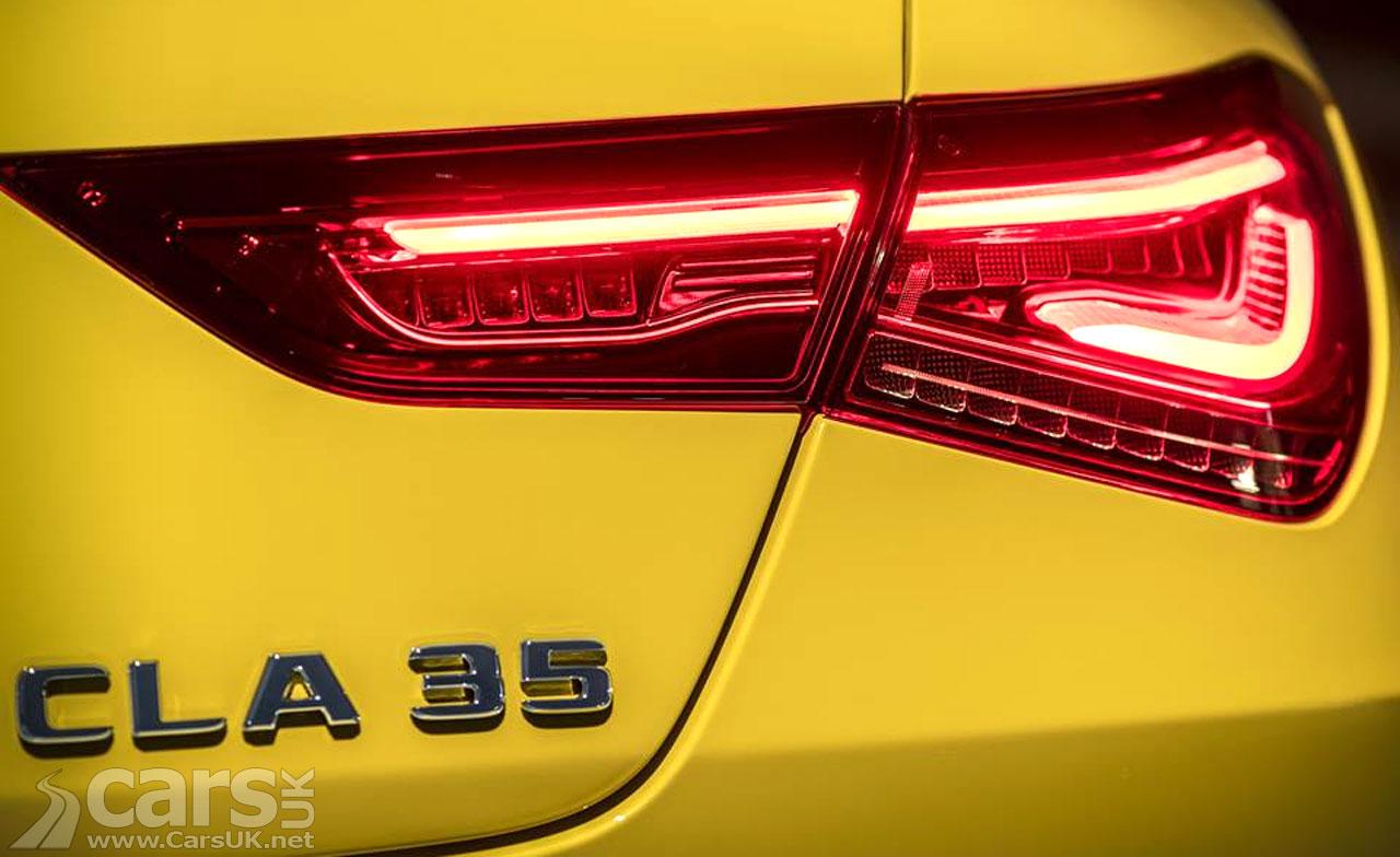 Mercedes-AMG CLA 35 teased