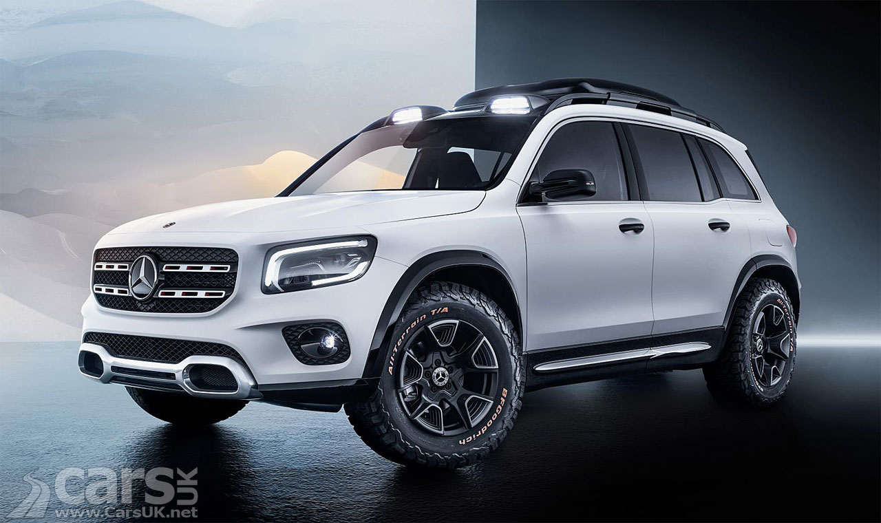 Mercedes GLB Concept: Mercedes' butch answer to the BMW X1 ...