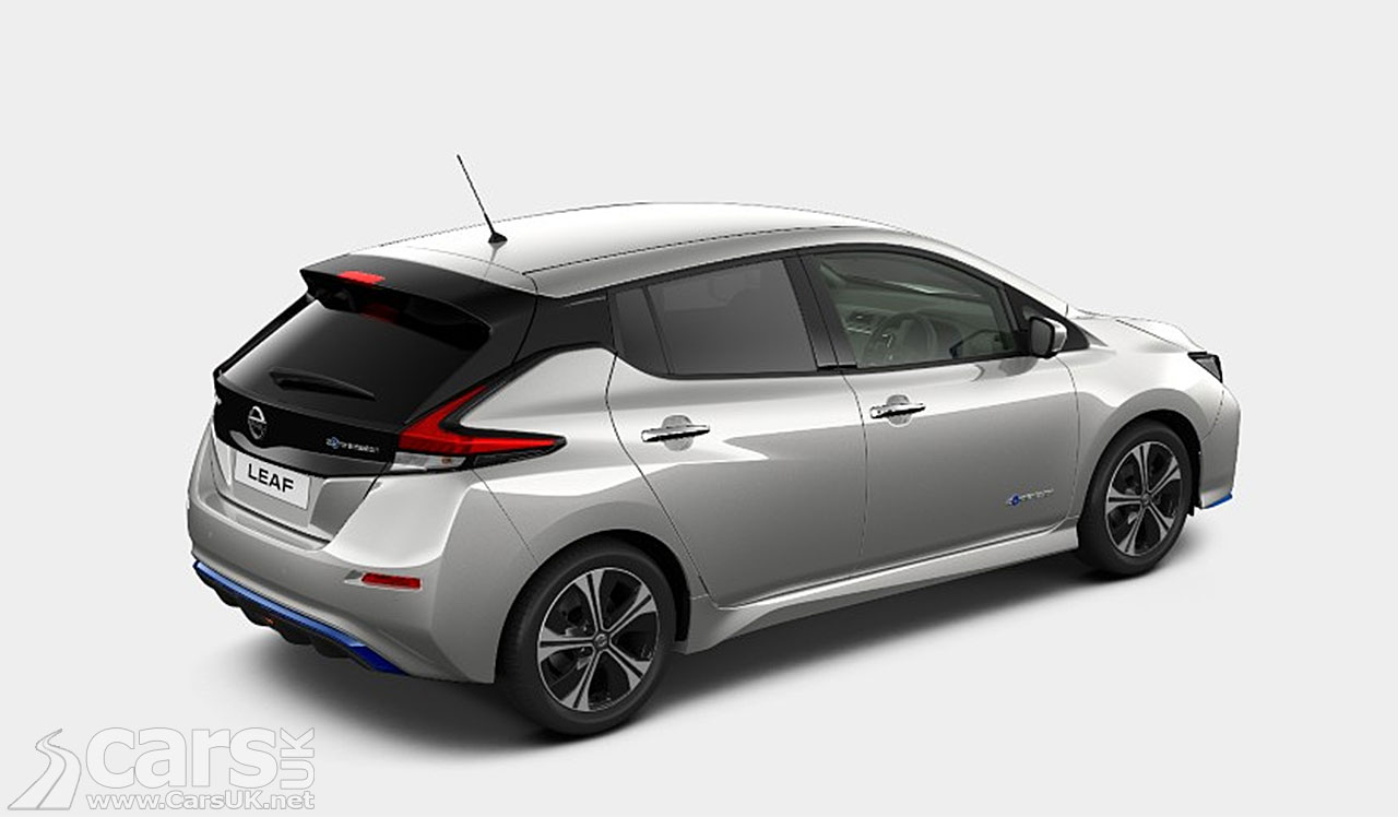 Nissan LEAF e+ Tekna costs from £35,895 in the UK