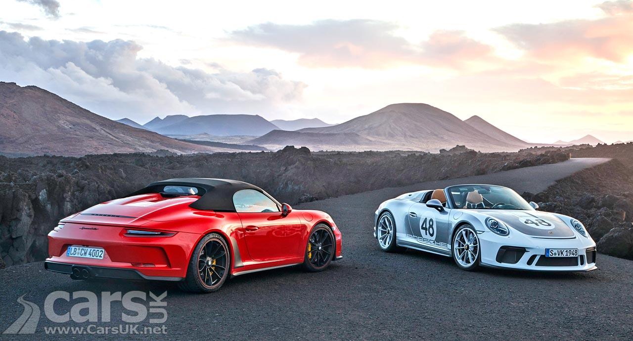 New Porsche 911 Speedster UK Price and Spec