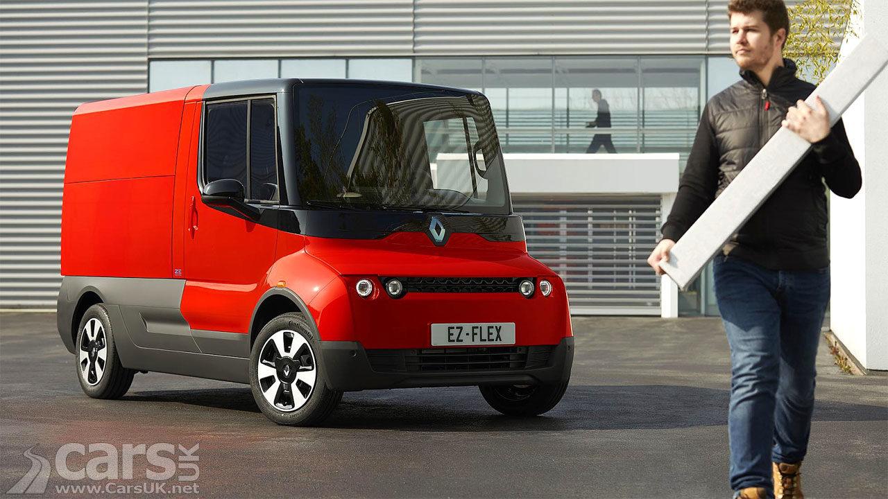 Renault EZ-FLEX is Postman Pat's ELECTRIC future