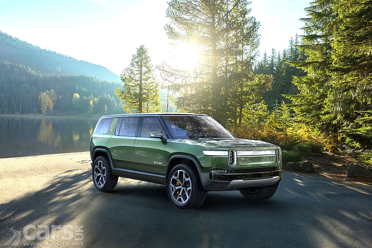 Ford takes stake in RIVIAN to develop new EVs