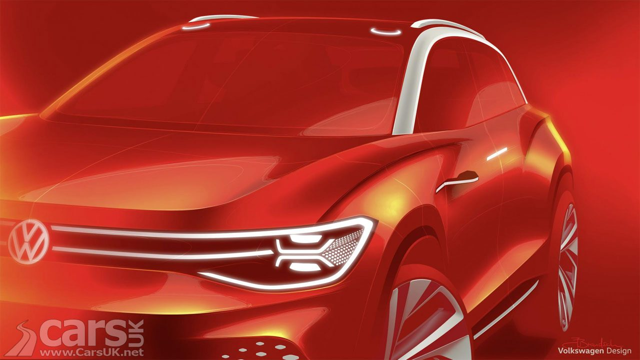 Volkswagen ID ROOMZZ teased as yet another electric VW