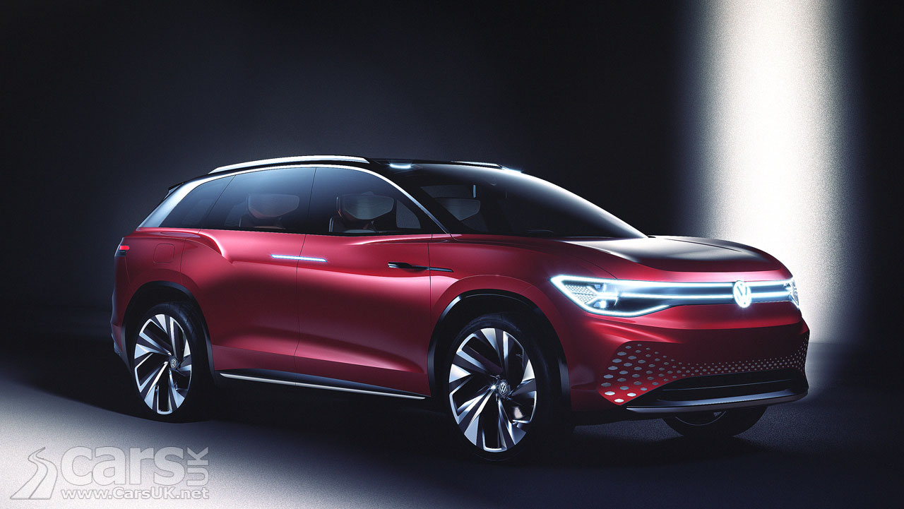 Volkswagen Id Roomzz Concept Electric Suv Revealed In