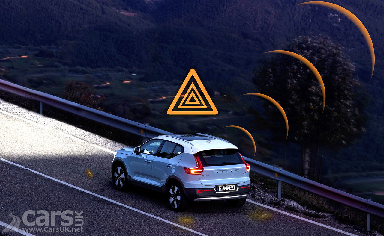 Volvo cars across Europe will WARN each other of slippery roads and hazards