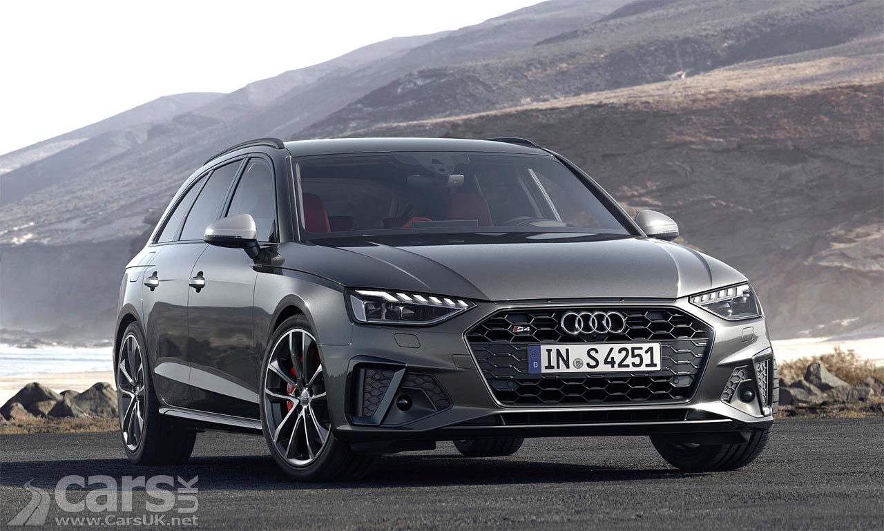 Audi A4 and S4 'Facelift'