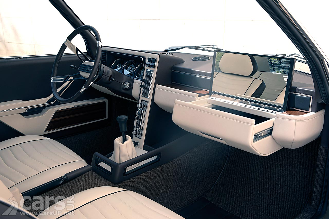 BMW Garmisch Concept Interior